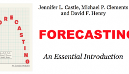 Forecasting Book Cover